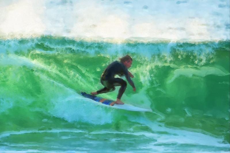Surfing Mission Beach Jetty 11