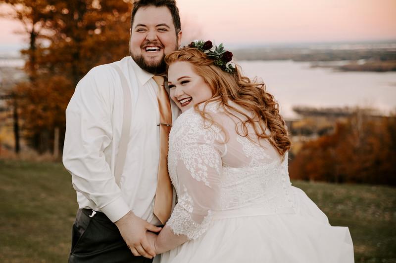 Stephanie + Brandon   Wedding