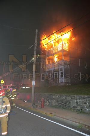 6 Alarm Structure Fire - 248,50 Park Ave, Woonsocket, RI - 9.4.16