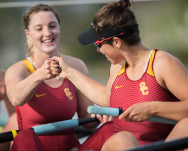 USC Women's Rowing at the PAC-12 Challenge, 2018