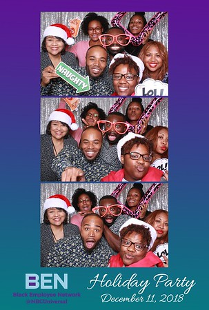 NBCUniversal BEN Holiday Party 2018