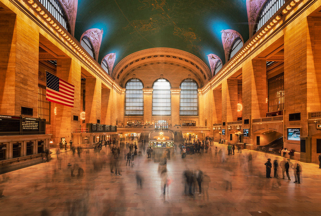 Long Weekend in New York City Grand Central