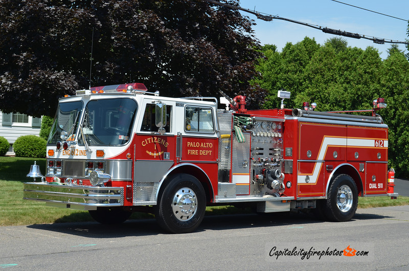 Palo Alto (Citizens Fire Co.) Engine 612: 1987 Hahn 1000/750 (X-Pitman, NJ)