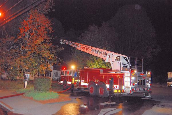 Main St. Barn Fire Salem