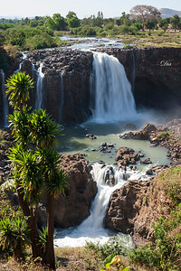 The way to the Blue Nile Falls