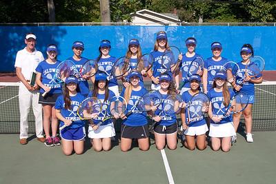 2013-10-2 James Caldwell Girls JV Tennis