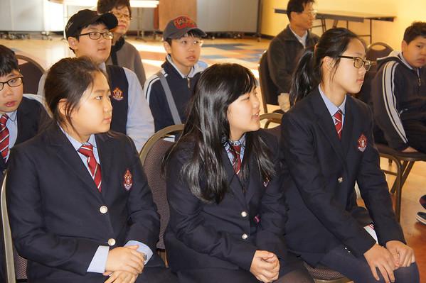 Young-Hoon School Visitors