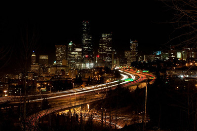 02-02-09 - Seattle Night Skyline