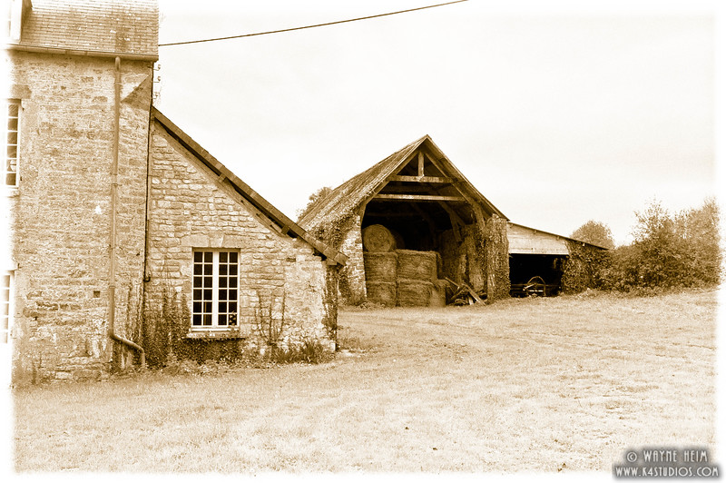 Old Barn in Normandy 2   Photography by Wayne Heim