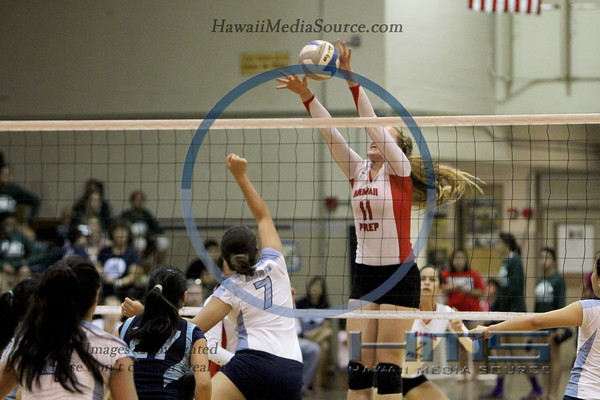 HPA Girls Volleyball - SF 10-31-13
