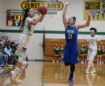 Vanden High School girls basketball team survives scare from Will C. Wood
