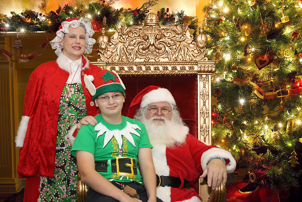 Austin Santa 2013 Party