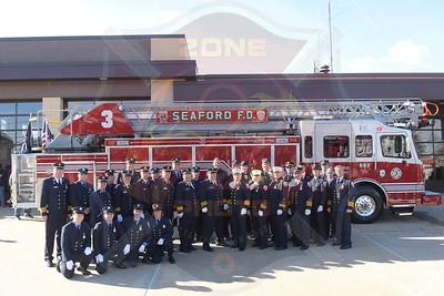 Seaford F.D. Dedication and Wet Down for Ladder 683  11/25/18