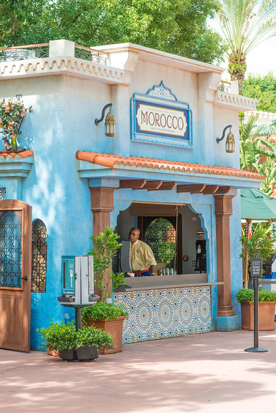 New Morocco Kiosk - Epcot Food & Wine Festival 2016