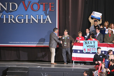 Governor Mitt Romney Visits VA Beach on a final push before the Elections