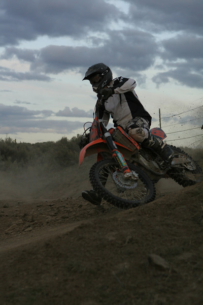 Play Area Track - Orange Bikes