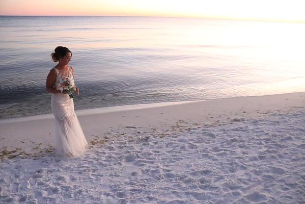 Joe and Leslee Vetor Wedding - The Bride