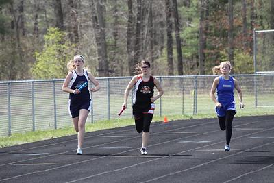 Girls 1600 Meter Relay - Brethren Invite