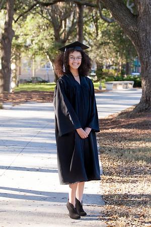 Monique's Graduation Portraits