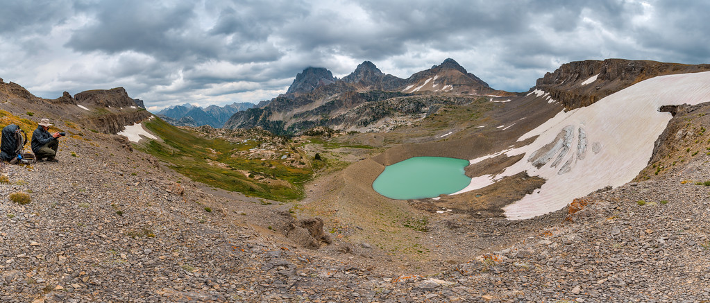 Hurricane Pass Teton Crest Trail Grand Teton National Park Wyoming