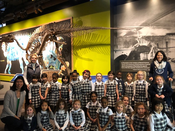 Kindergarten Visits the Museum of Natural History