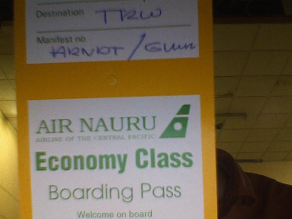 Air Nauru Ticket