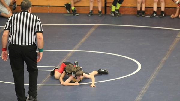 boys wrestle january 31, 2016