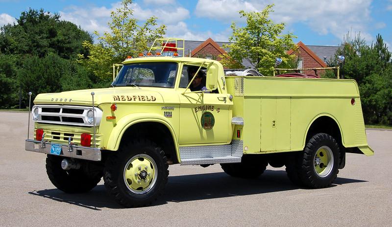 Retired Engine 4.  1974 Dodge / Maynard.  450 / 700