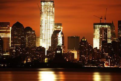 Lower Manhattan sky line 12-4-11