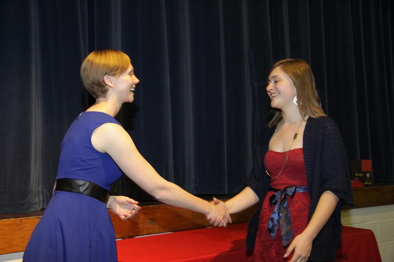 Awards Night 2012 - National Merit Commended Scholar