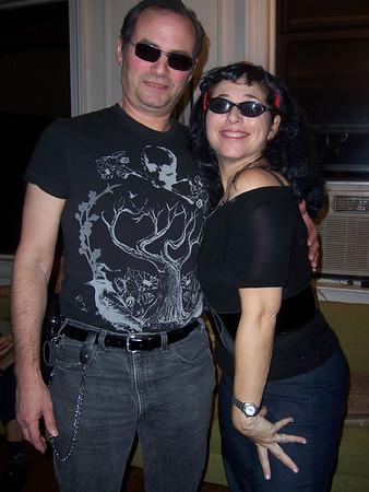 Halloween & Janet Heetner's birthday party