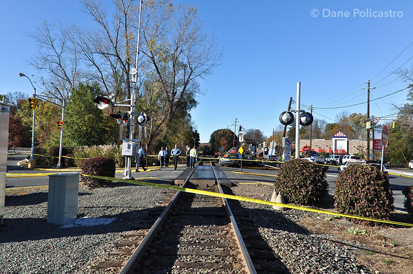 11-2-10 Westwood, NJ Car Vs. Train with Entrapment: Broadway