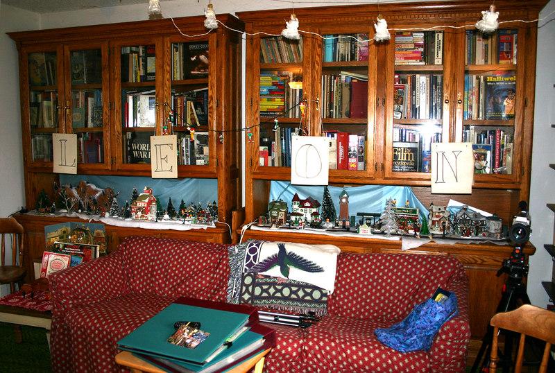 LEON on bookcases