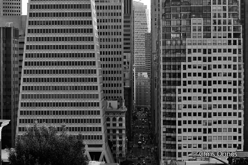 San Francisco | USA Straight lines and dense grids