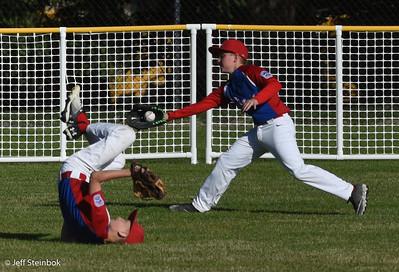 Baseball - 2018/06/01 - ELL Coast Mariners vs Rangers