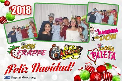 Don Frappe - Don Maceta - Doña Paleta Christmas Party - November 22nd, 2018