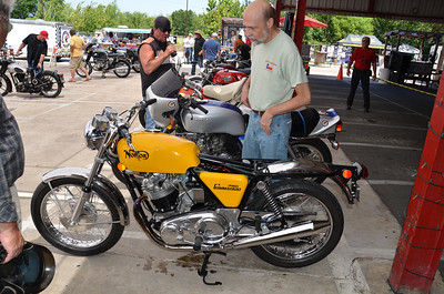 Strokers Antique Bike Show with the NTNOA, June 2011