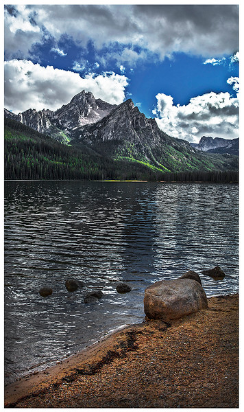 115.Scott Carter.1.Sawtooth Lake in the Afternoon.jpg
