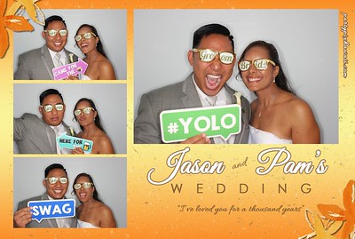 Pam & Jason's Wedding (Luxury Photo Pod)