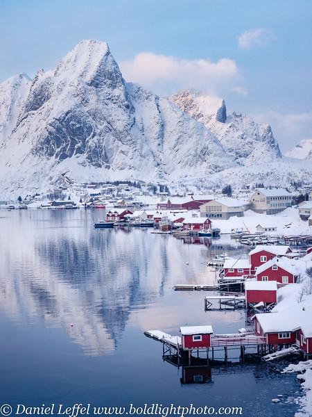 Norway Lofoten Islands Winter