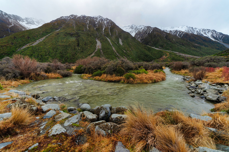 Creek Below Mt. Cook