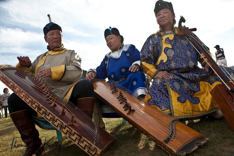 Mongol Musician in Monkhe Tingri. Mongolia.