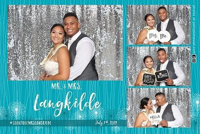 Marcus & Tiana's Wedding (Mini LED Open Air Photo Booth)