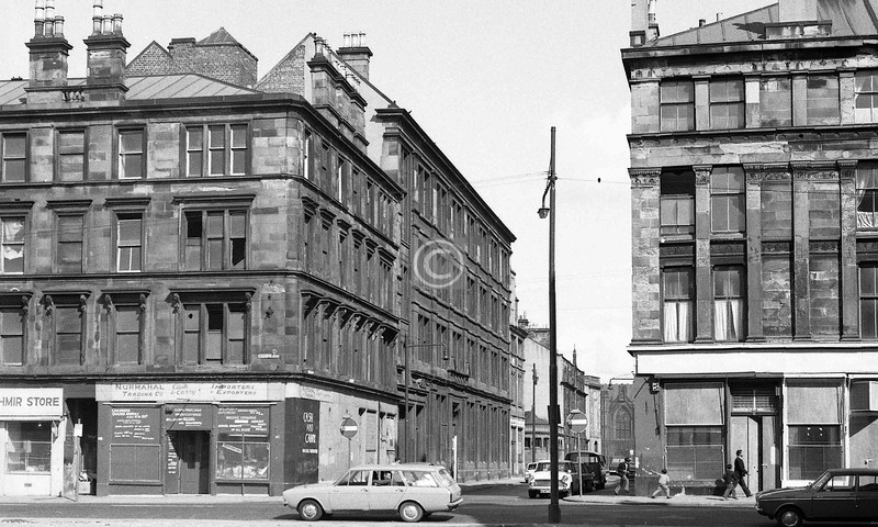 Norfolk St at Buchan St. 