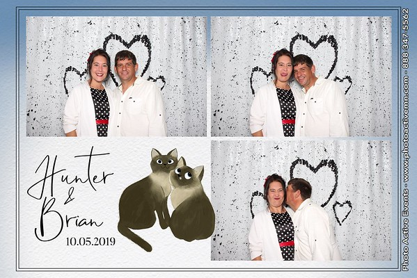 2019-10-05 Pier B Resort Wedding Photo Booth Duluth