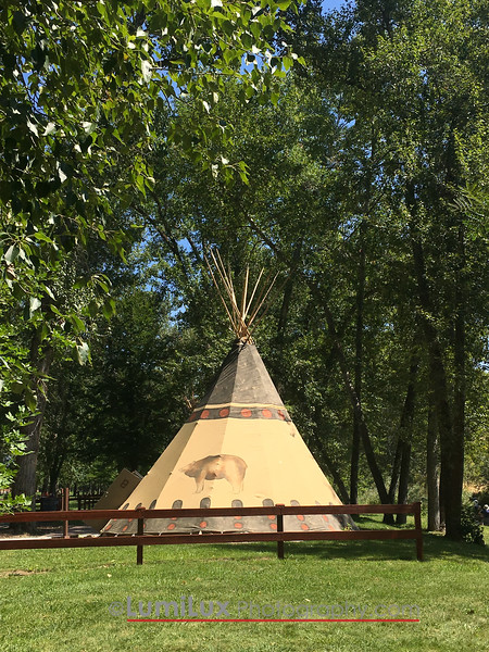 You can reserve a Teepee to camp in at this park..how cool is that. Looks like it slept about 10-12.
