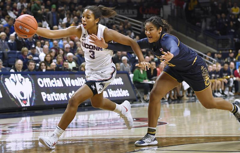 Notre Dame UConn Basketball
