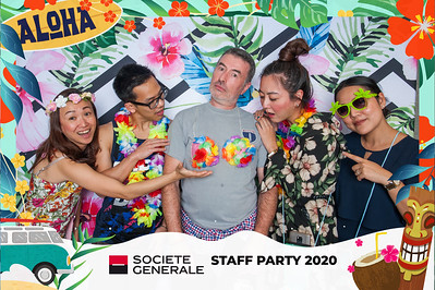 Societe Generale Staff Party 2020