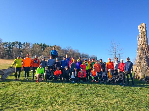 April 10, 2016 - Raven Rocks Run course check