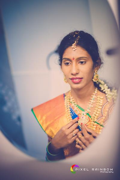 Sriveditha+SaiRaja -Bride